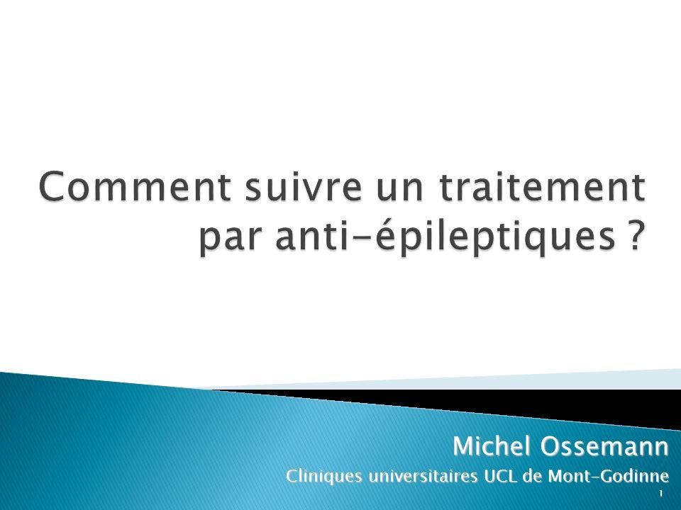 1 Michel Ossemann Cliniques universitaires UCL de Mont-Godinne 1