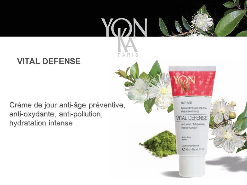 Crème de jour anti-âge préventive, anti-oxydante, anti-pollution, hydratation intense VITAL DEFENSE