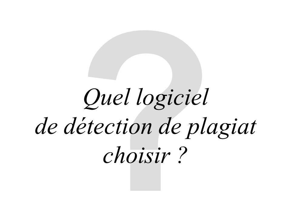 ? Quel logiciel de détection de plagiat choisir ?