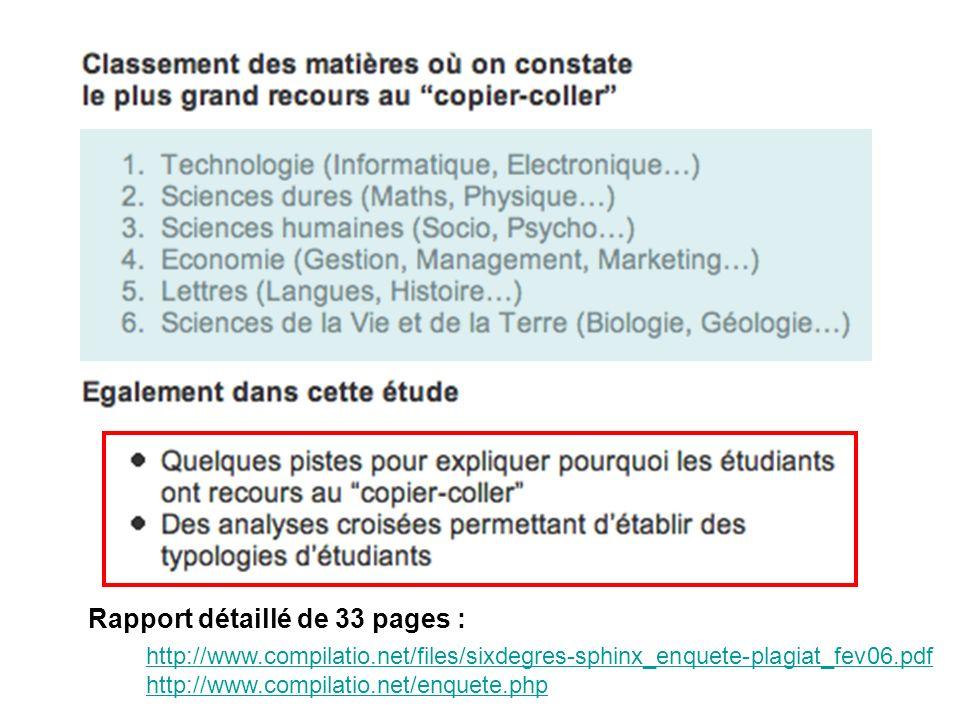 2ème …en vue de mettre en place à lUniversité de Lyon une Méthodologie de Détection de Plagiat pour plus de 90000 étudiants