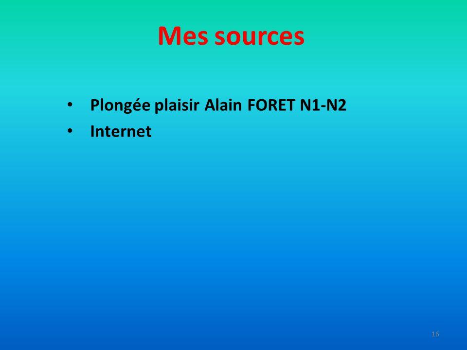 Mes sources Plongée plaisir Alain FORET N1-N2 Internet 16