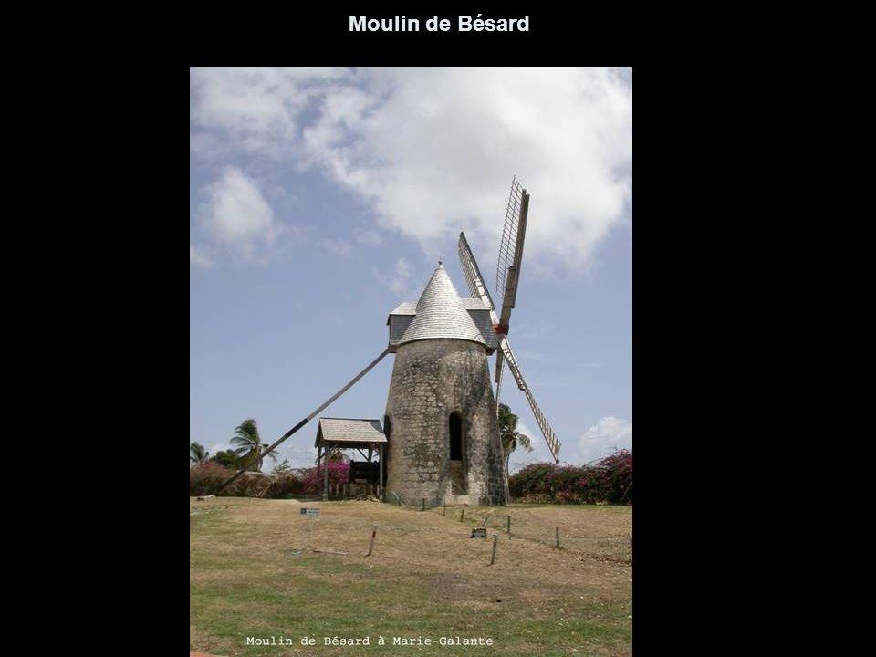 Un des moulins de Marie-Galante