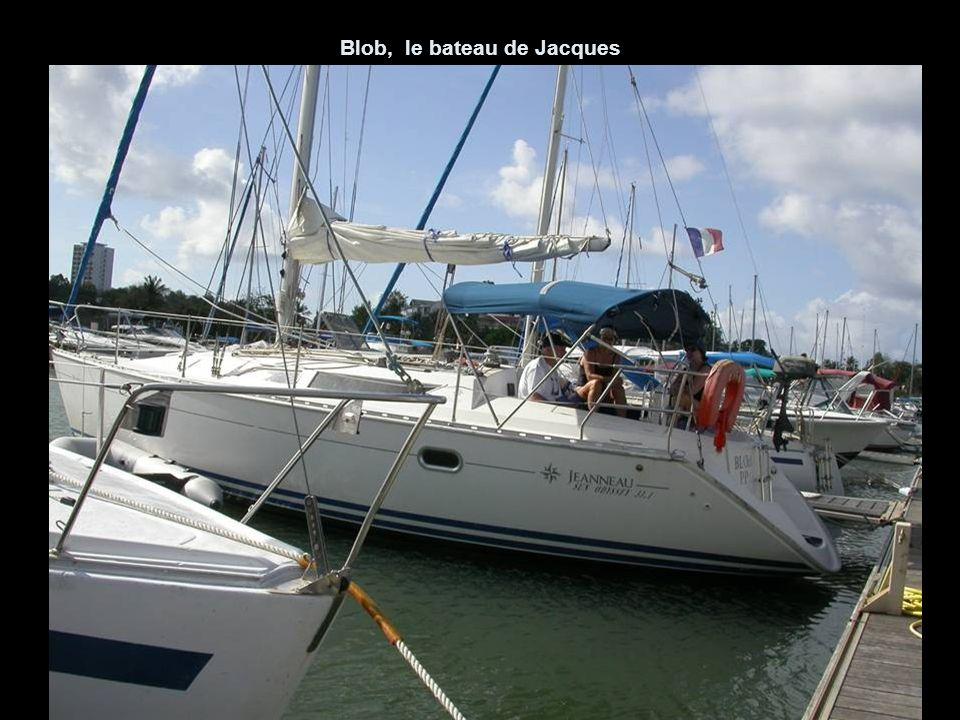 Blob, le bateau de Jacques
