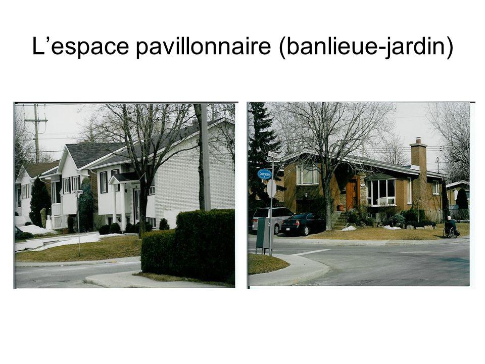 Lespace pavillonnaire (banlieue-jardin)
