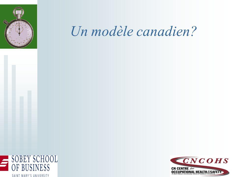 Un modèle canadien