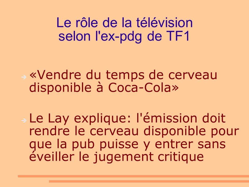 La télé augmente les doses Chercheurs de l Université Laval Augmentation de 432% dans les réseaux privés On est passé de 10 actes de violence à l heure en 1994 à 52 en 2001 Les réseaux avaient promis de s autoréglementer (!!!!)