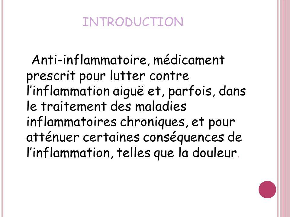 LES Anti- inflammatoires stéroïdiens LES Anti- inflammatoires stéroïdiens