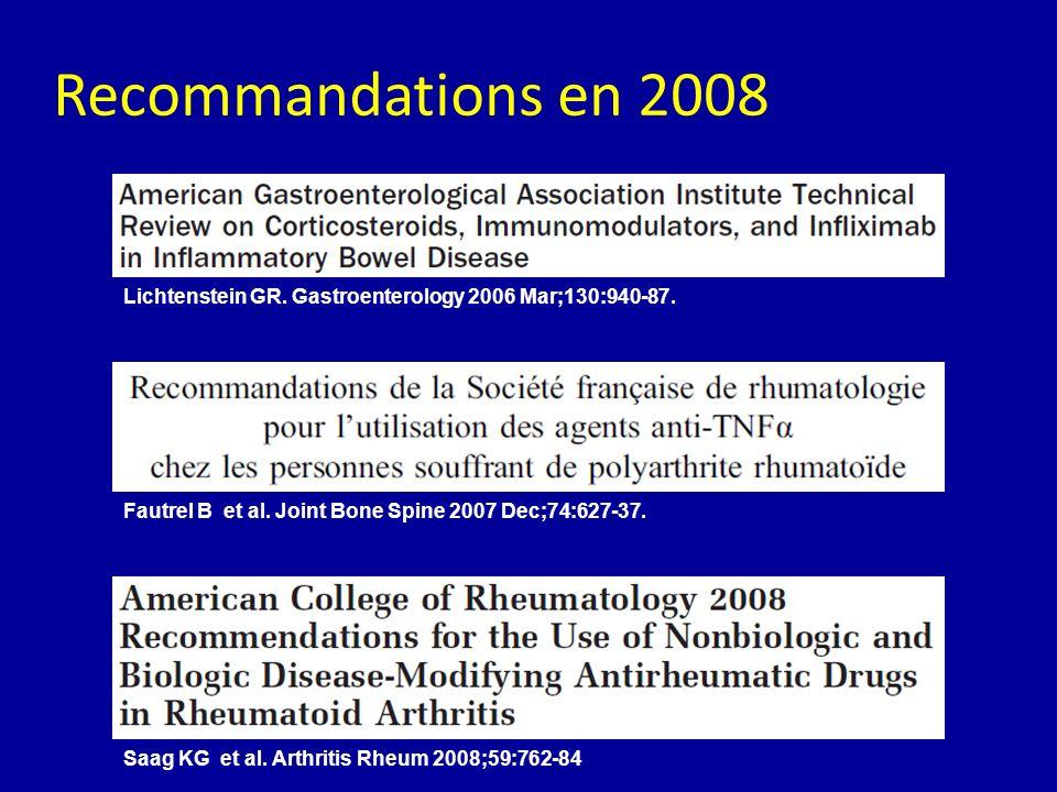 Lichtenstein GR. Gastroenterology 2006 Mar;130:940-87. Fautrel B et al. Joint Bone Spine 2007 Dec;74:627-37. Saag KG et al. Arthritis Rheum 2008;59:76