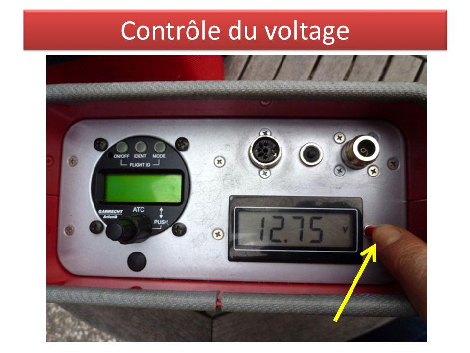 Contrôle du voltage