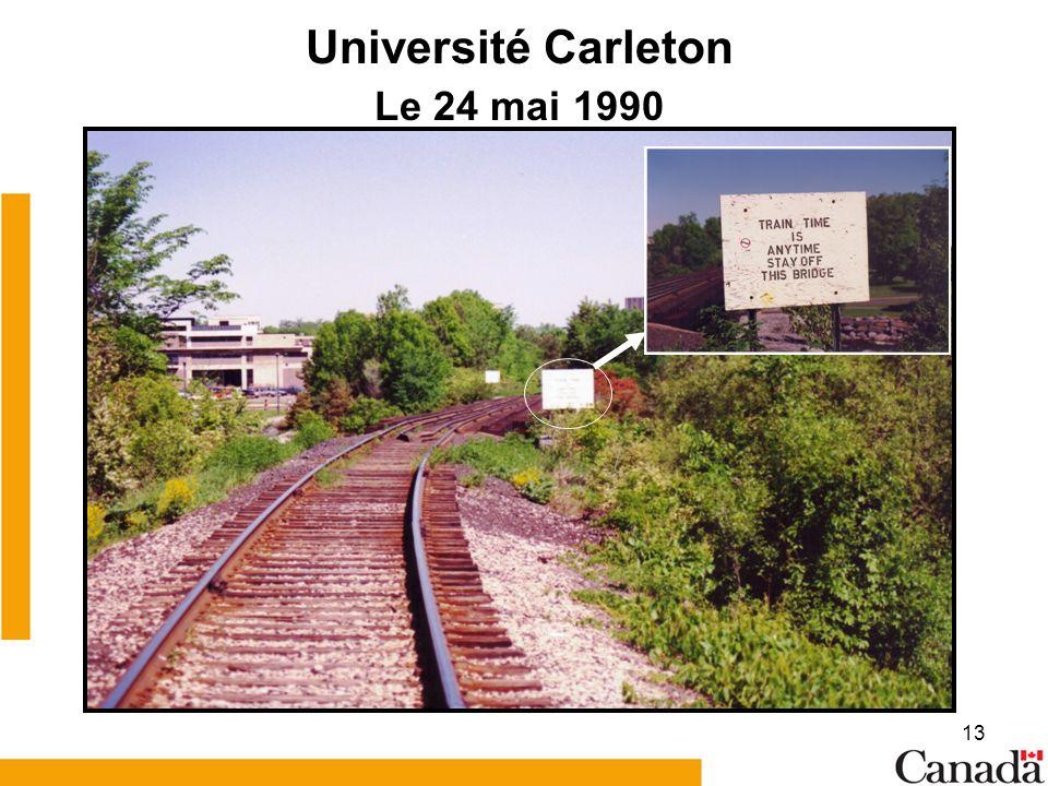 13 Université Carleton Le 24 mai 1990