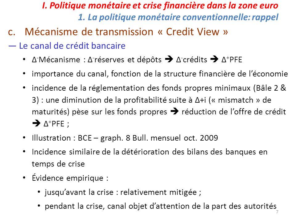 28 : BCE (2011), Bulletin Mensuel, juillet, Les mesures non conventionnelles de la BCE, leur incidence et leur suppression, p.