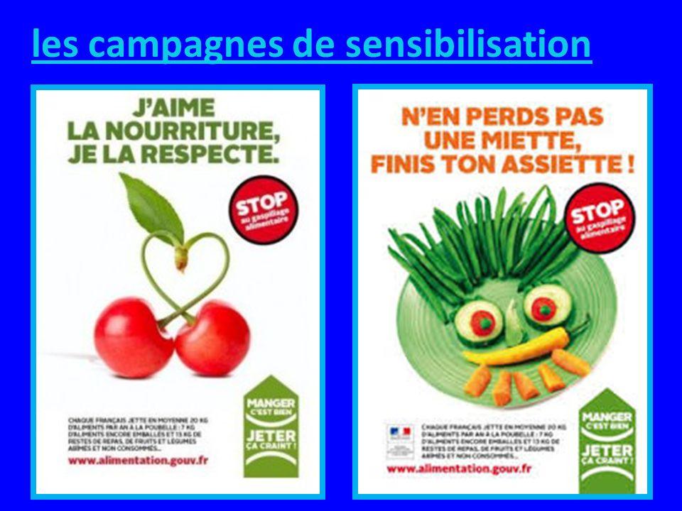 SOLUTIONS des conseils et astuces pour ne plus gaspiller les aliments : Sensibiliser la population par des campagnes dinformation ou des actions, dans