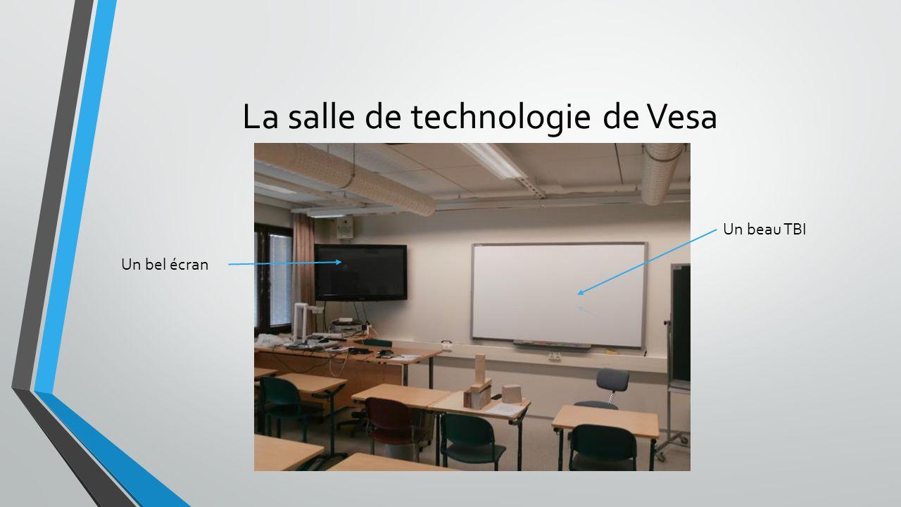 La salle de technologie de Vesa Un beau TBI Un bel écran