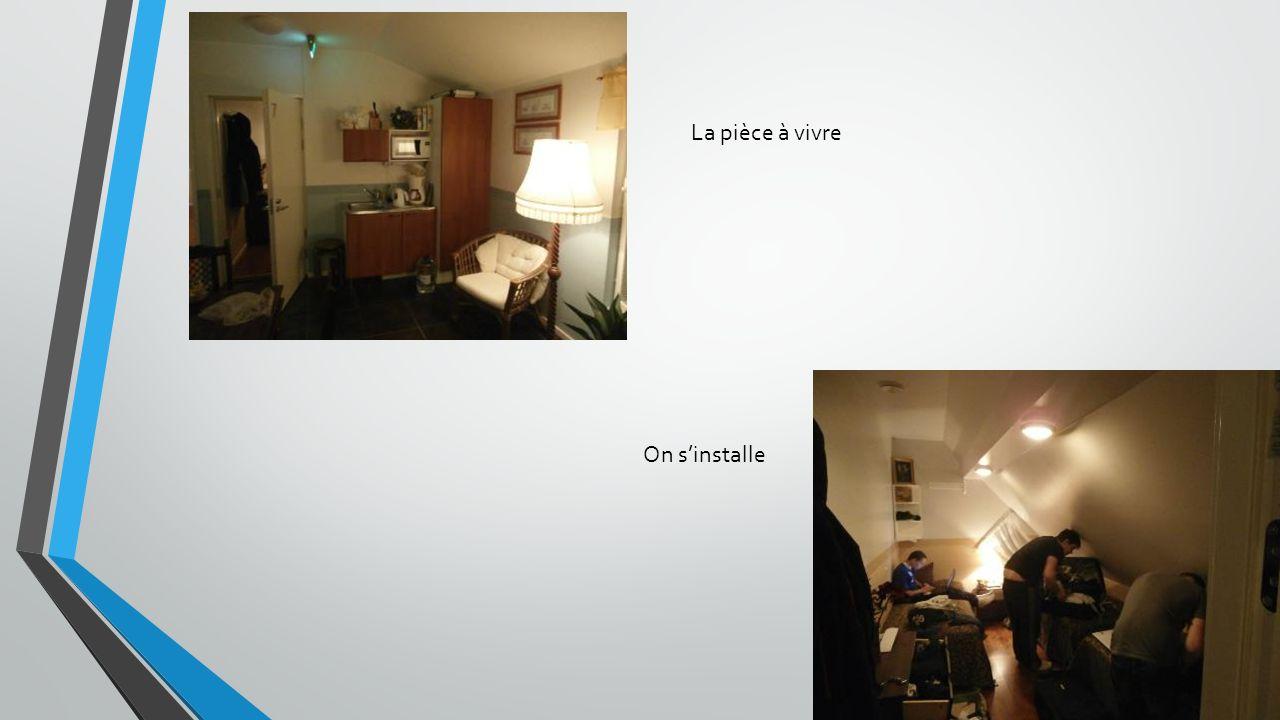 La pièce à vivre On sinstalle