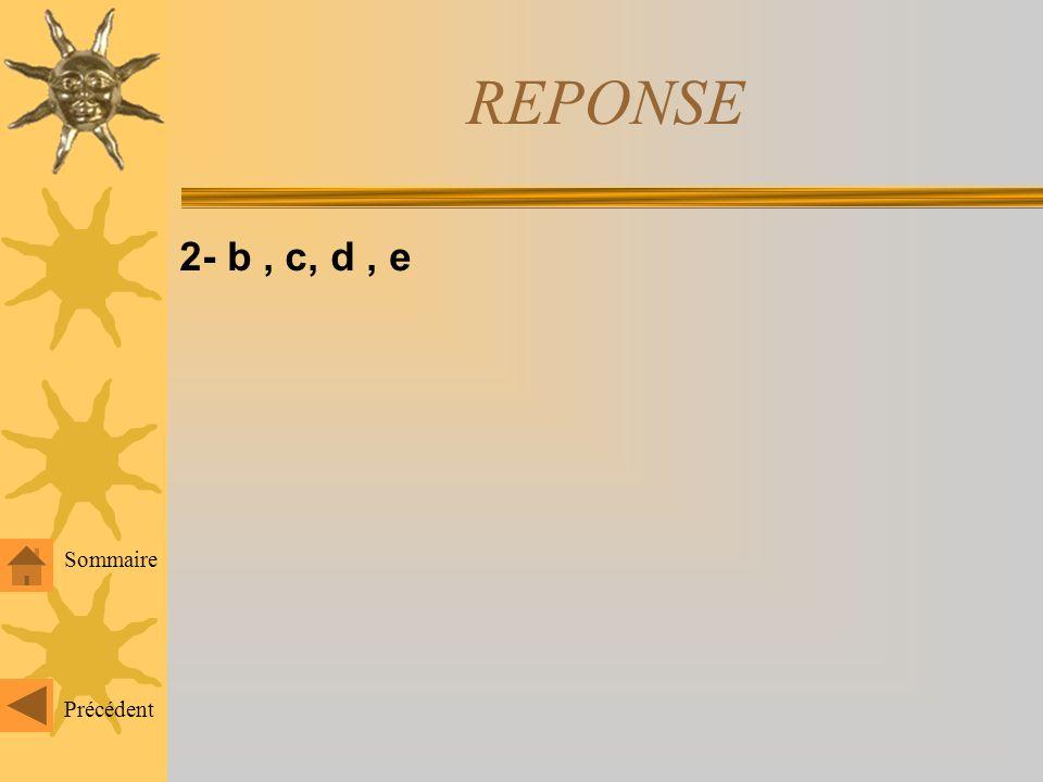 1- a, b, d Sommaire Précédent