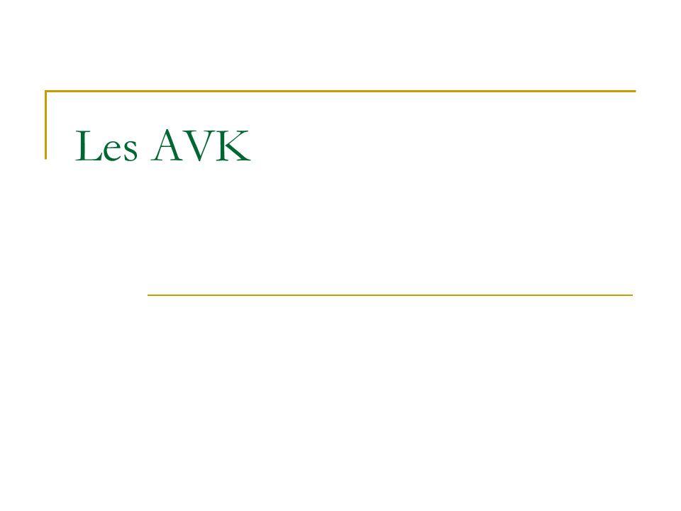 Les AVK