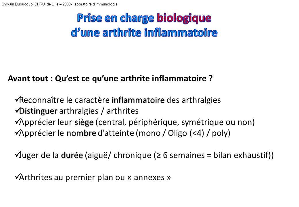 Sylvain Dubucquoi CHRU de Lille – 2009- laboratoire dImmunologie Néphélométrie et ELISA !.