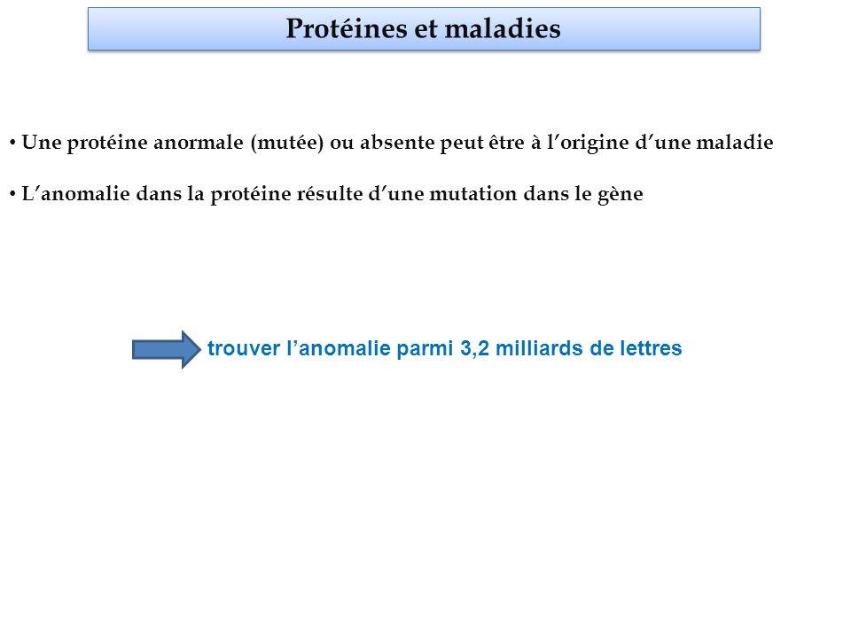 Comment identifier lanomalie génétique.