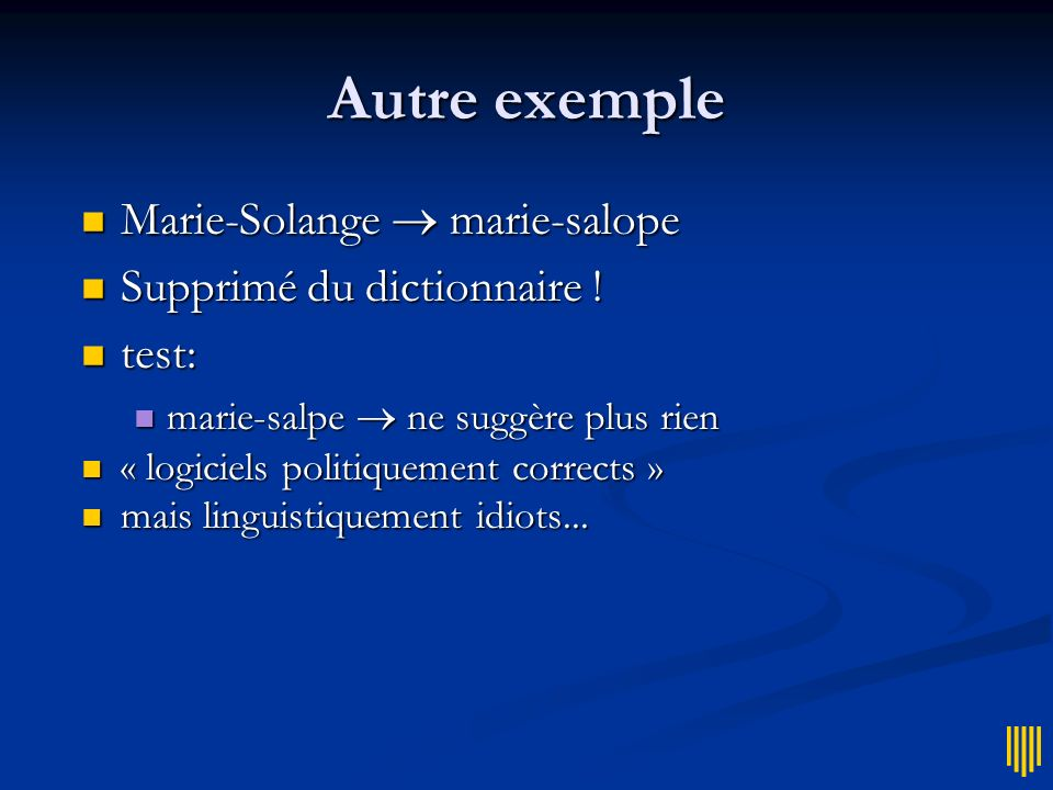 Solution Microsoft Supprimer le mot anti-arabe du dictionnaire .