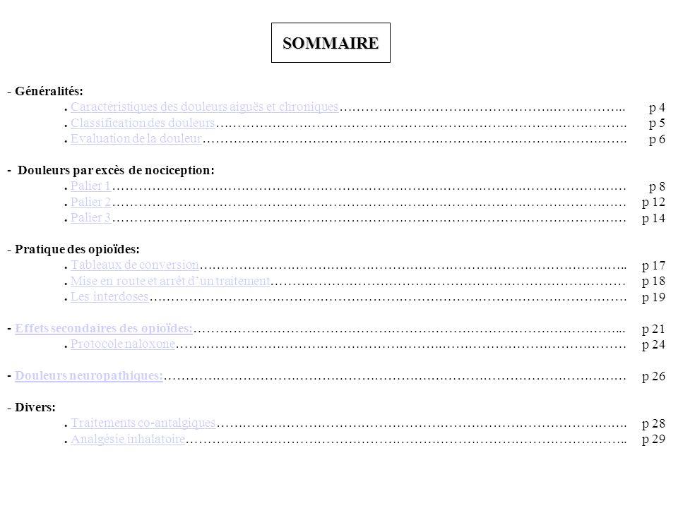 SOMMAIRE - Généralités:.