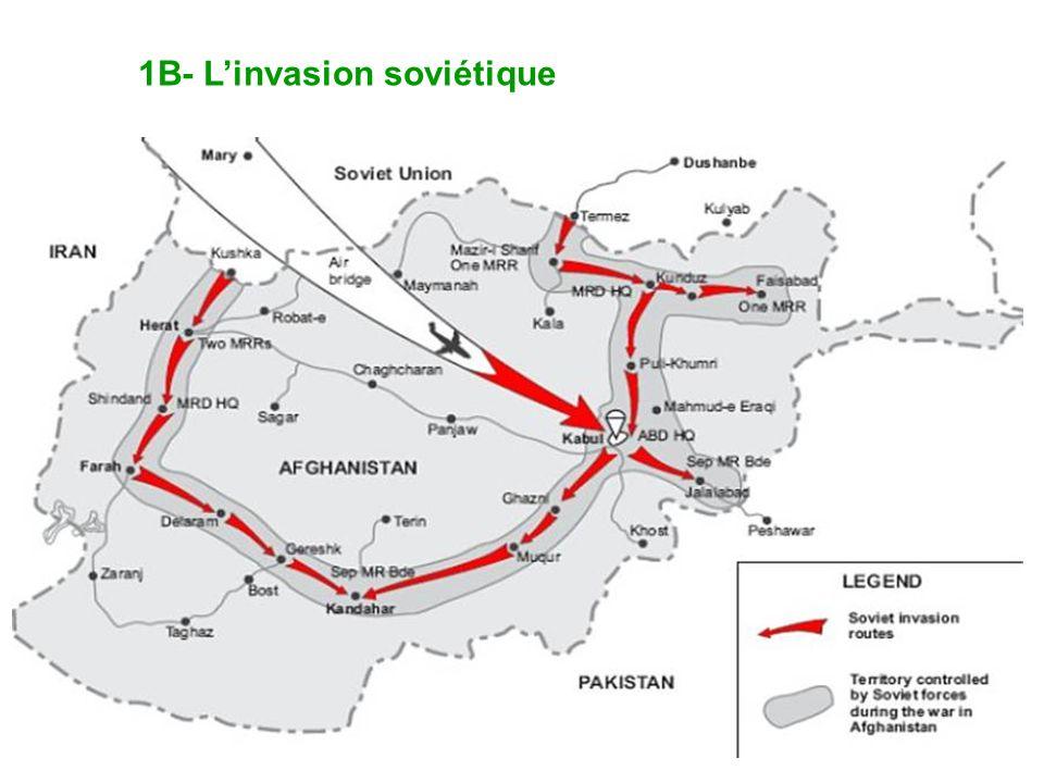 1B- Linvasion soviétique
