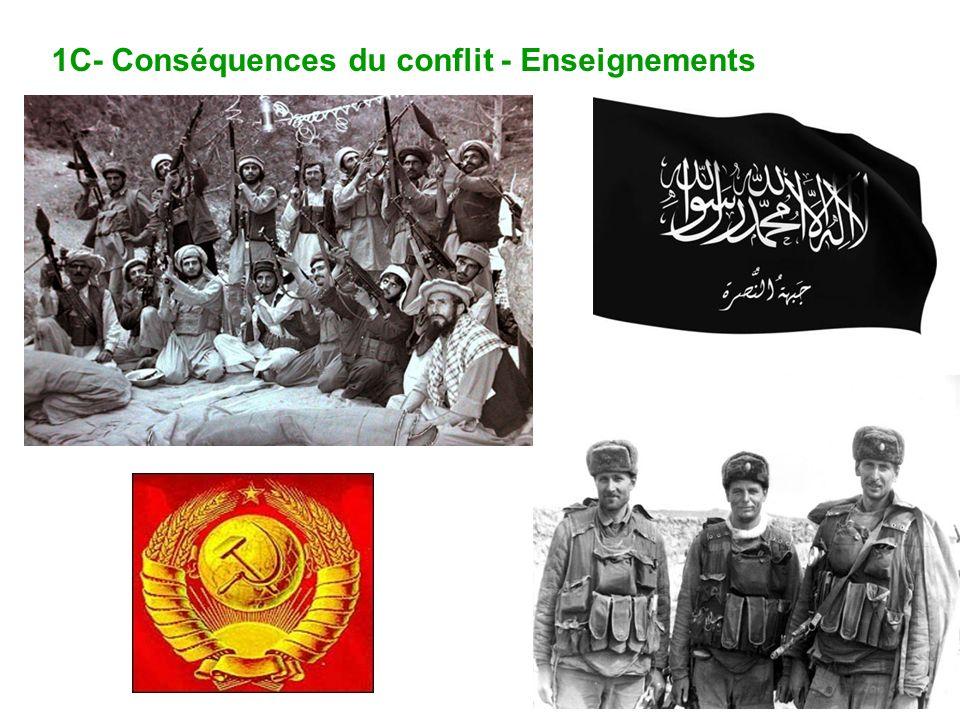 1C- Conséquences du conflit - Enseignements