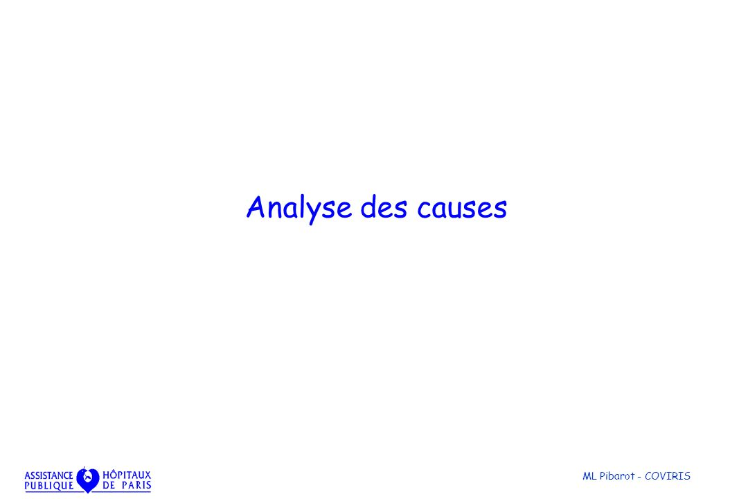 ML Pibarot - COVIRIS Analyse des causes