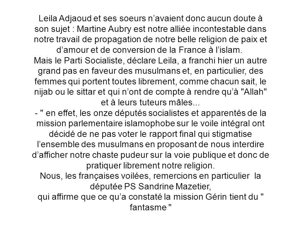 Les femmes françaises en nijab ont appellé lors de leurs réunions préparatoires à voter