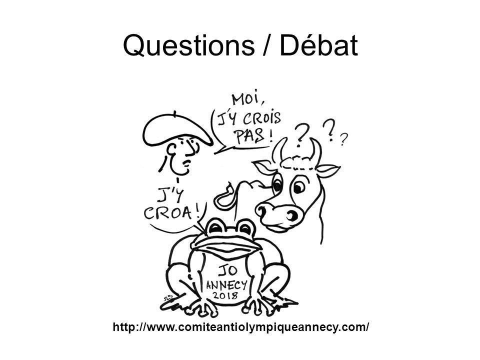Questions / Débat http://www.comiteantiolympiqueannecy.com/
