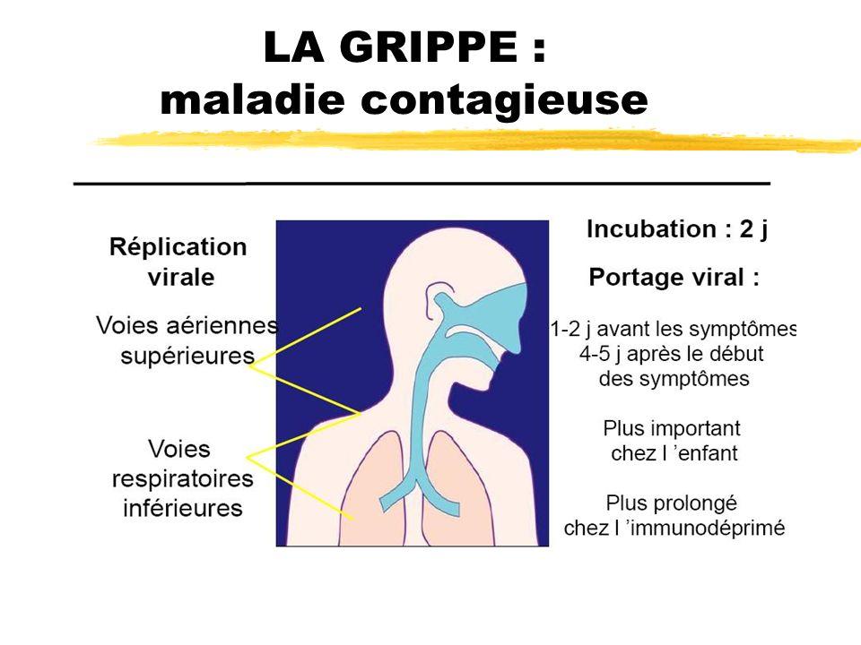 LA GRIPPE : maladie contagieuse