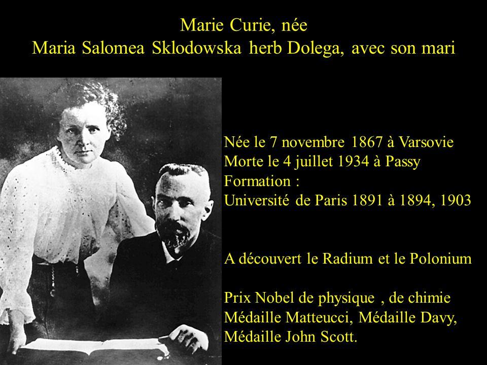 Sophie Berthelot, née Niaudet avec son mari Née en 1837 Morte le 18 mars 1907 Cétait une femme scientifique française