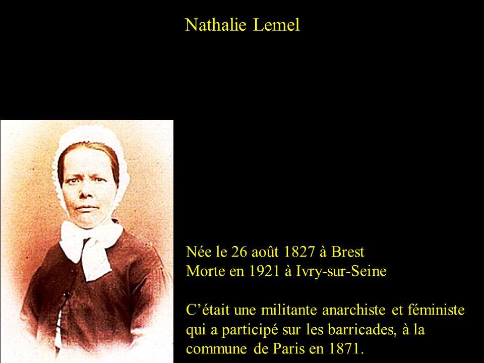 Jeanne-Marie Poinsard dite Jenny dHéricourt Née en 1809 à Besançon Morte en 1875 à Paris Cétait une écrivaine féministe révolutionnaire française.