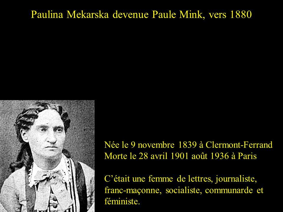 André Léo, née Victoire Léodile Béra Née le 18 août 1824 à Lusignan Morte le 20 mai 1900 à Paris Cétait une romancière, journaliste et féministe franç