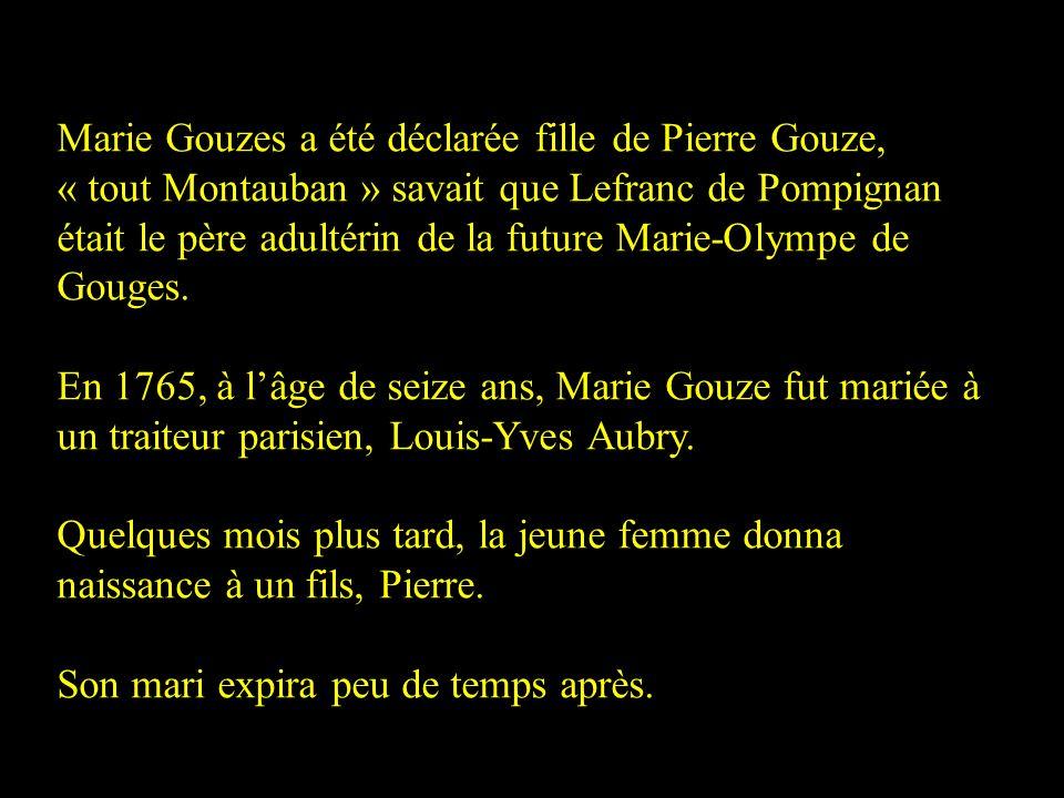 Le marquis Jean-Jacques Lefranc de Pompignan Gravure de Delvaux en 1788 Né le 10 août 1709 à Montauban Mort le 1 er novembre 1784 à Pompignan Cétait u
