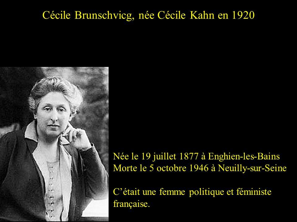 Hélène Brion Née en 1882 Morte en 1962 Cétait une institutrice féministe, syndicaliste CGT et pacifiste, auteur de « La voie féministe ».
