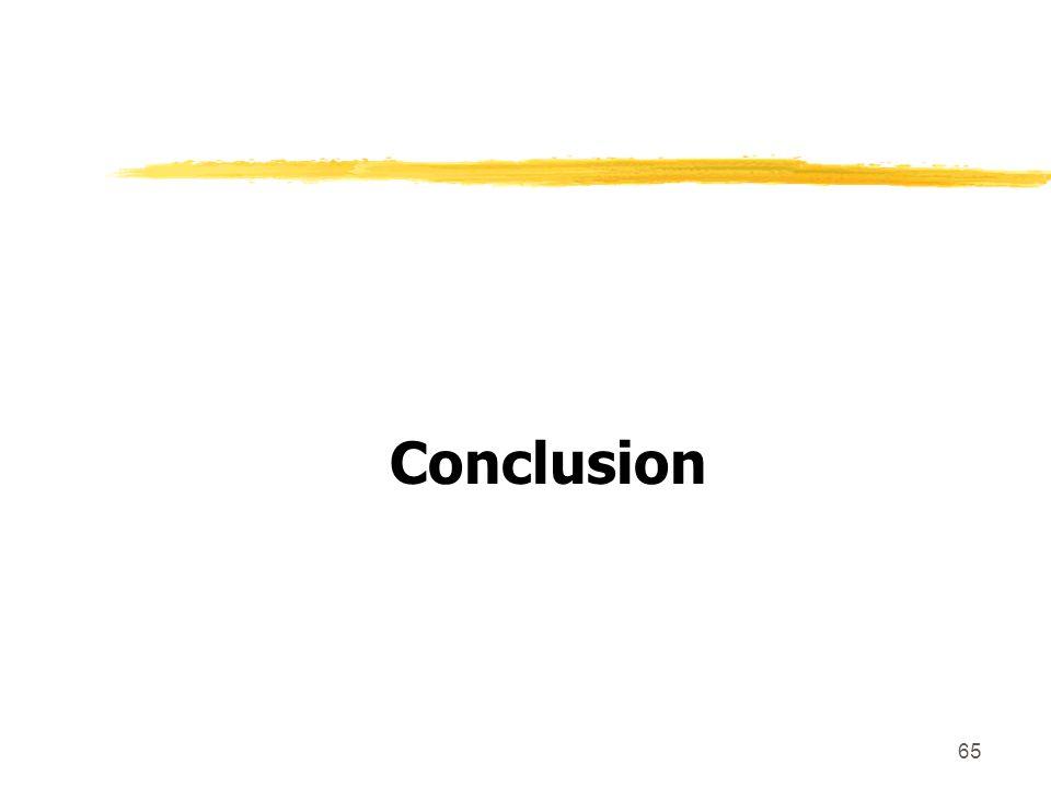 65 Conclusion