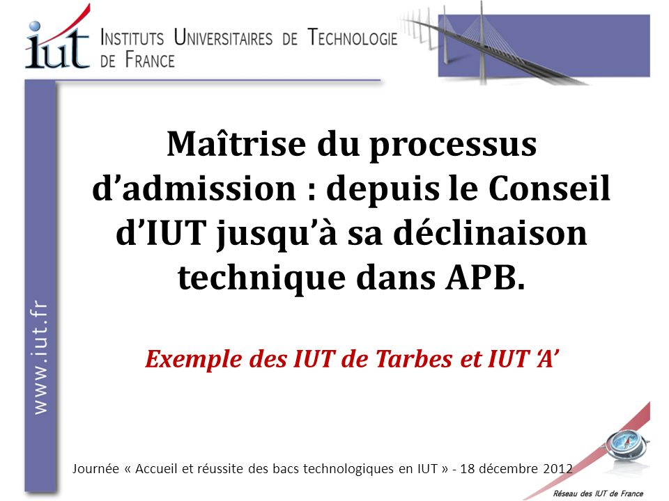 Exemple : Inscrits/candidatures