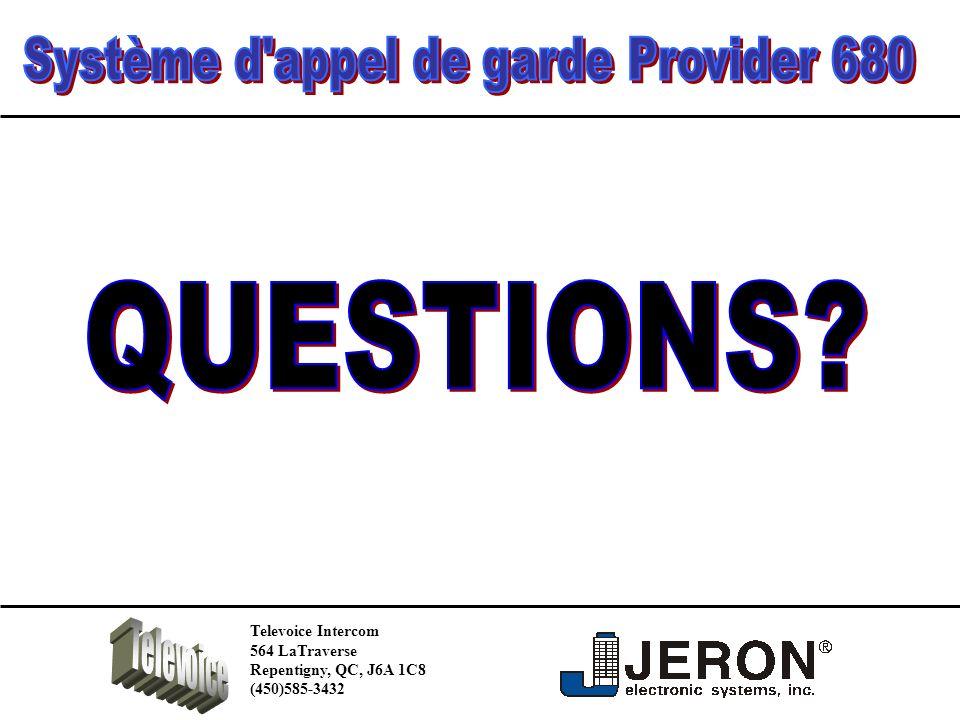 Televoice Intercom 564 LaTraverse Repentigny, QC, J6A 1C8 (450)585-3432