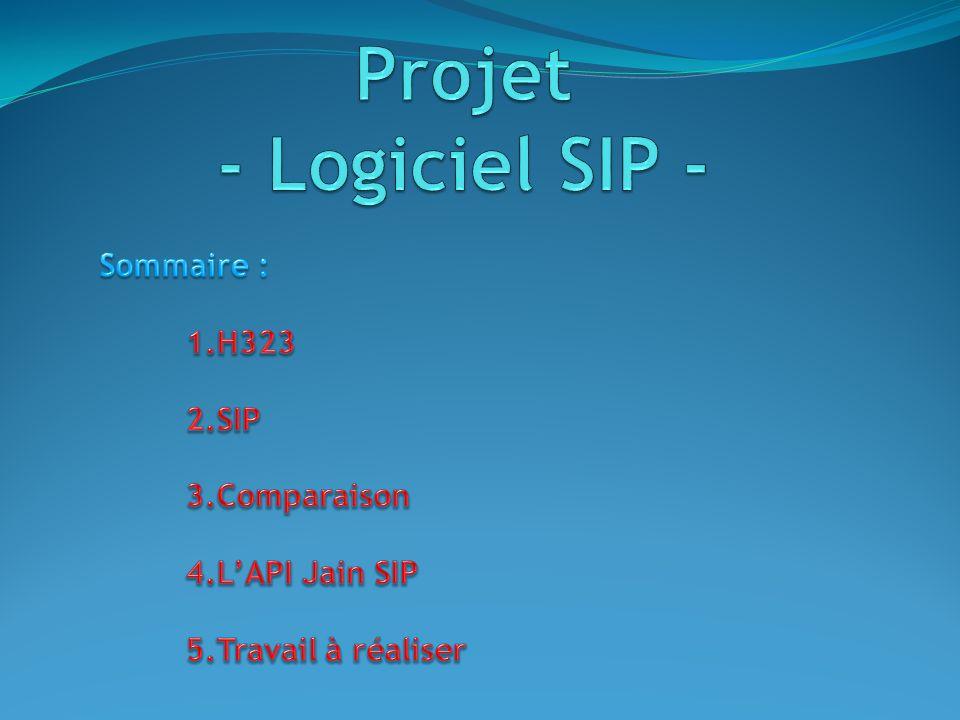 Protocole H323 1/5 Bien au point, c est le protocole le plus utilisé par les applications de téléphonie sur IP et de visio-conférence (95 % du trafic), les réseaux d opérateurs et les systèmes de téléphonie IP d entreprise.