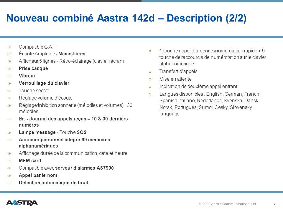 4.© 2009 Aastra Communications, Ltd.