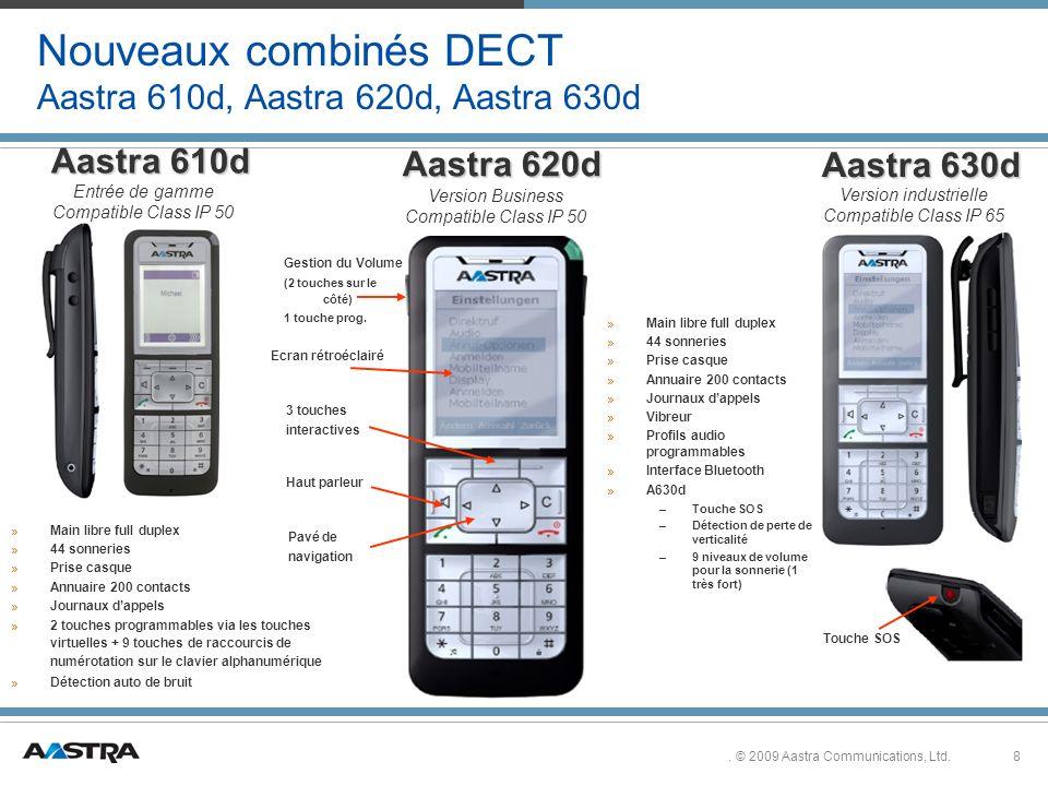 8.© 2009 Aastra Communications, Ltd.