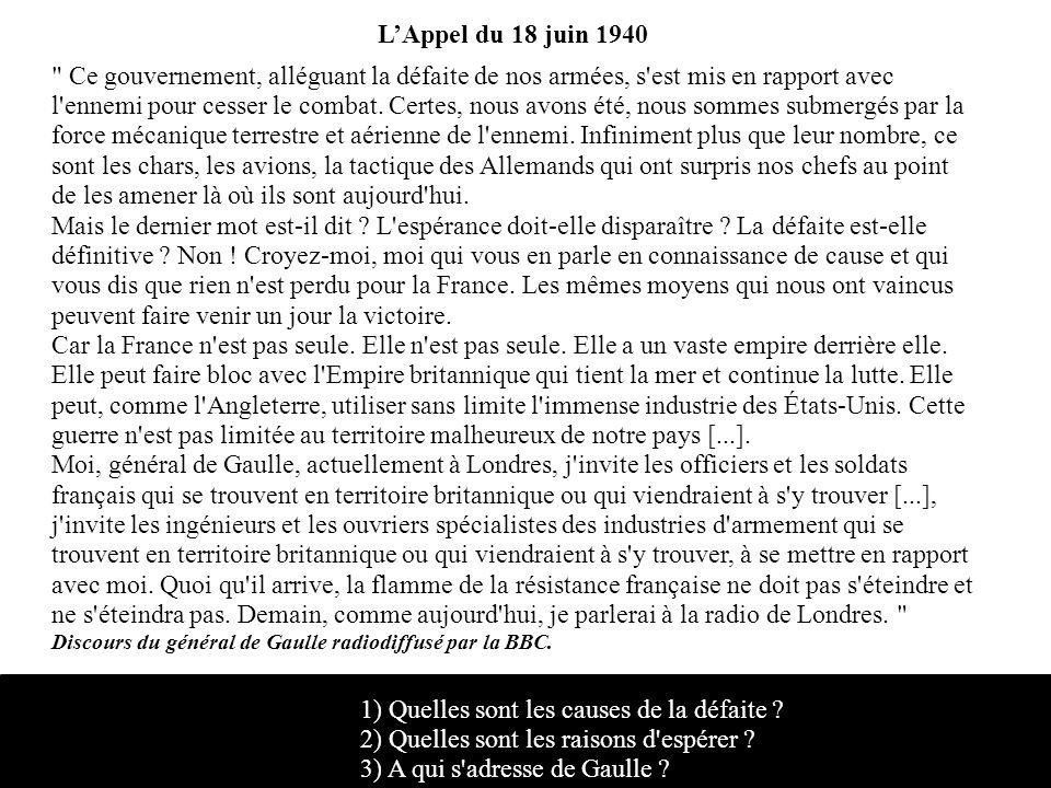 LAppel du 18 juin 1940