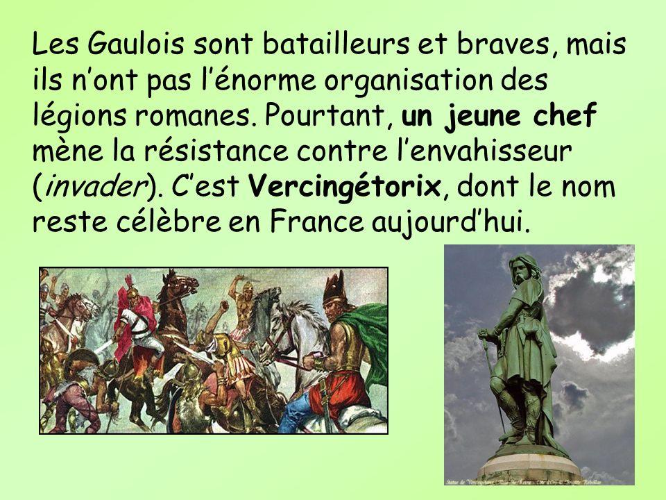 Les Gaulois sont batailleurs et braves, mais ils nont pas lénorme organisation des légions romanes. Pourtant, un jeune chef mène la résistance contre