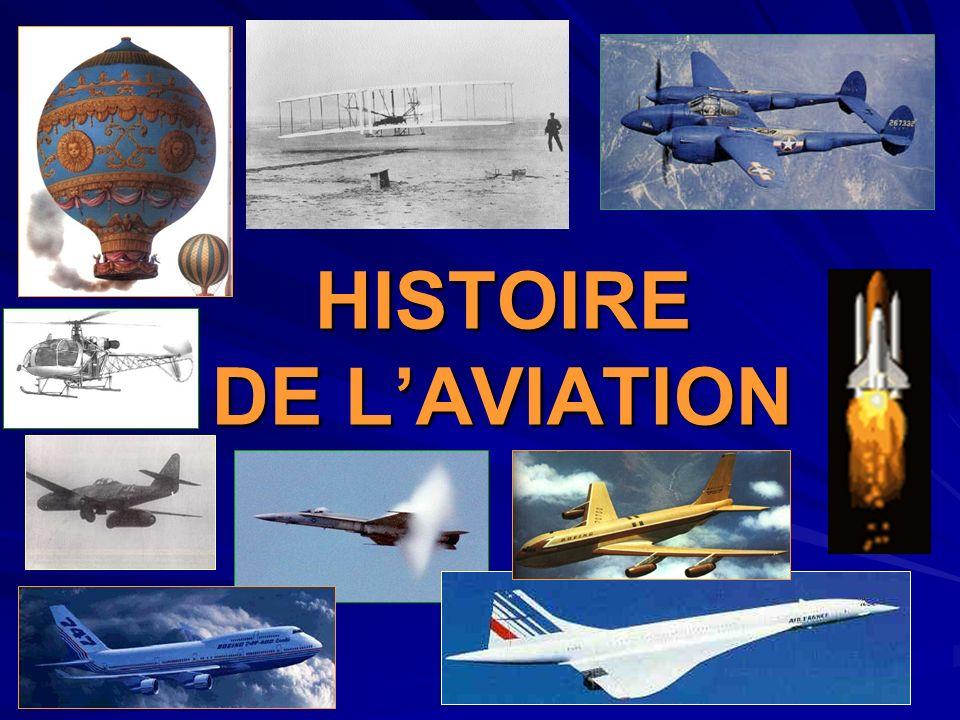 HISTOIRE DE LAVIATION