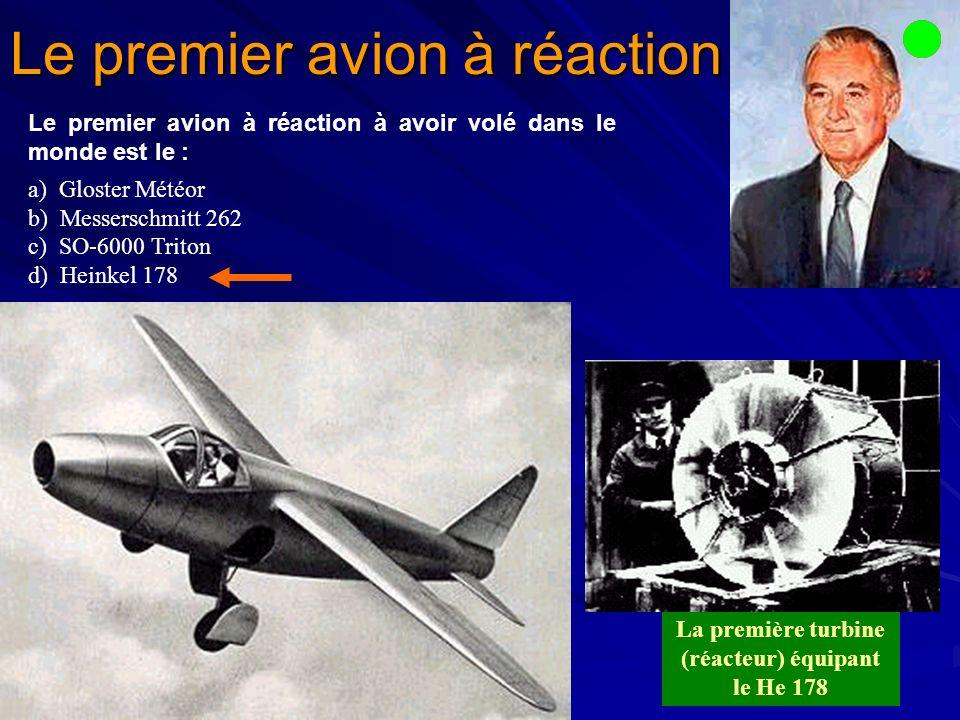 C est à Ernst Heinkel, et à son enthousiasme, que revient le mérite d avoir fait le premier pas dans la direction qui devait conduire au Heinkel He 178, le tout premier avion propulsé par réacteur.