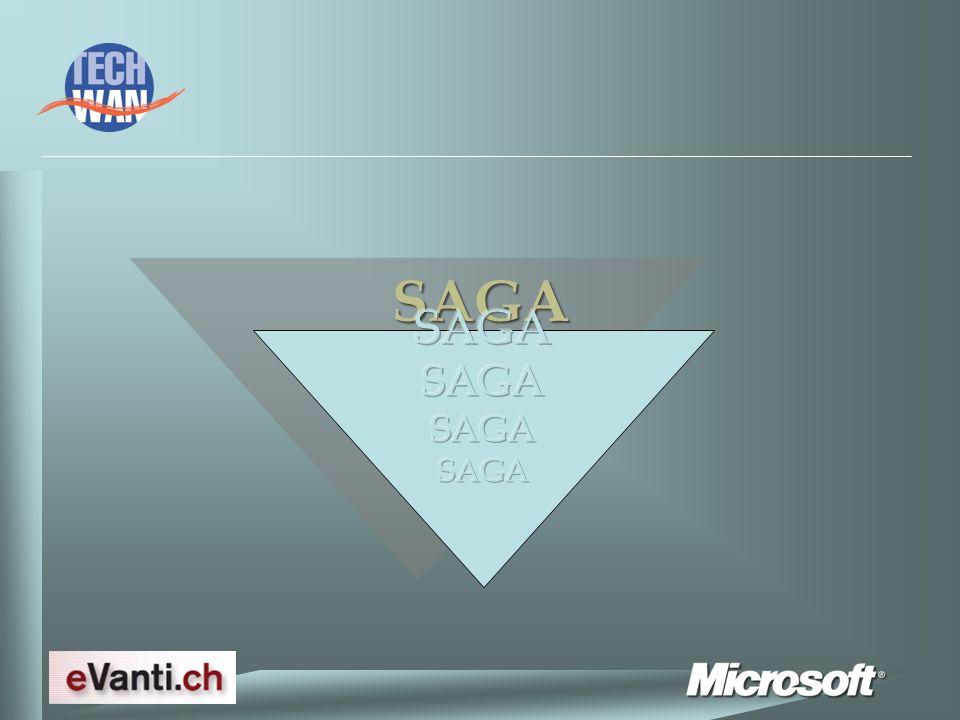 SAGA : Annuaire Facilité dutilisation de lannuaire interne Inclut un moteur de recherche puissant Permet de composer un ou plusieurs types dappel : paging SMS Email fax
