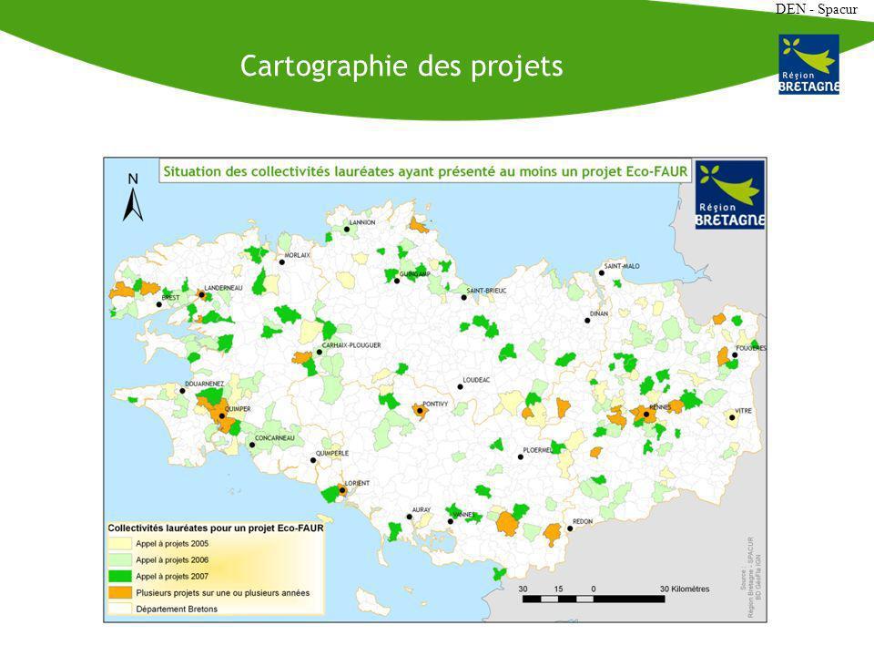 DEN - Spacur Cartographie des projets