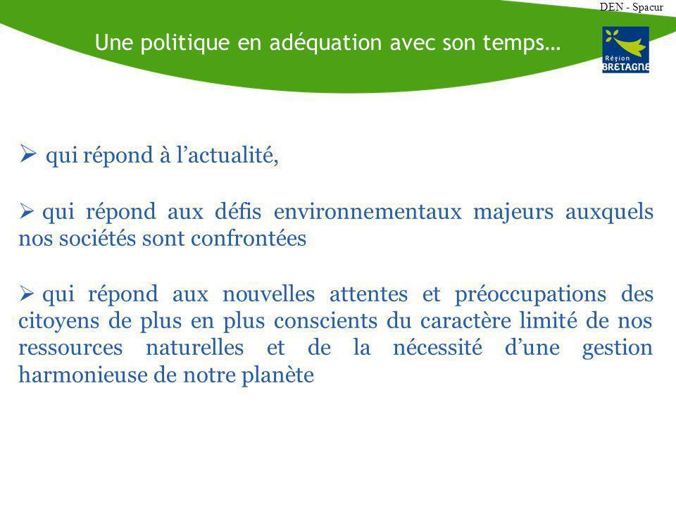 DEN - Spacur La Chapelle Thouarault (35) Source : BRUDED Coulée verte Source : BRUDED Valorisation écologique et pédagogique du site Préservation et mise en valeur dune zone sensible