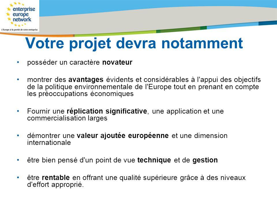 Title of the presentation | Date |# Votre projet devra notamment posséder un caractère novateur montrer des avantages évidents et considérables à l'ap