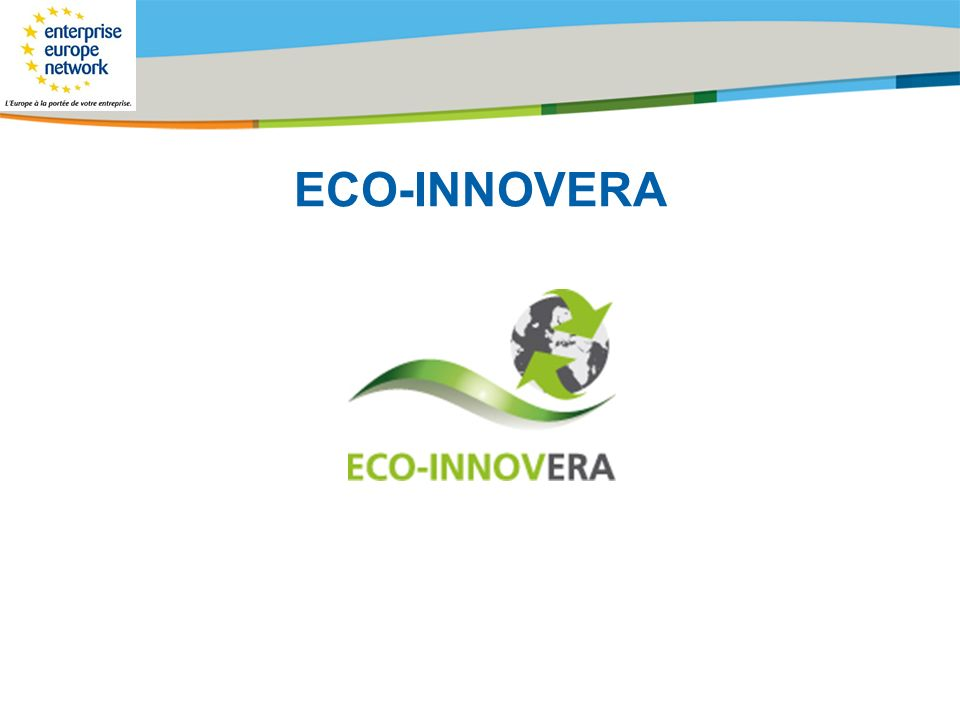 Title of the presentation | Date |# ECO-INNOVERA